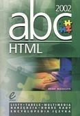 Okładka książki ABC ... HTML 2002