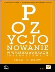 Okładka książki Pozycjonowanie w wyszukiwarkach internetowych