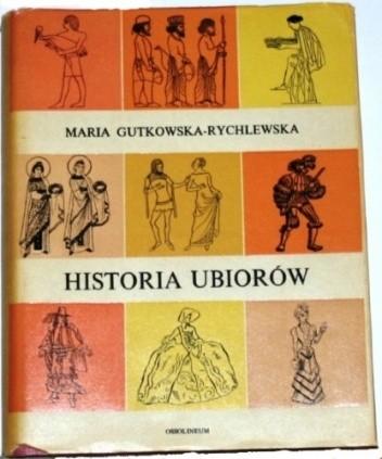 Okładka książki Historia ubiorów
