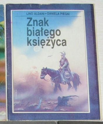 Okładka książki Znak białego księżyca