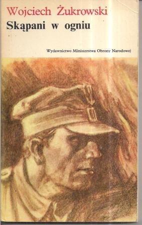 Okładka książki Skąpani w ogniu