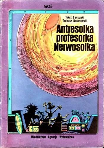 Okładka książki Antresolka profesorka Nerwosolka