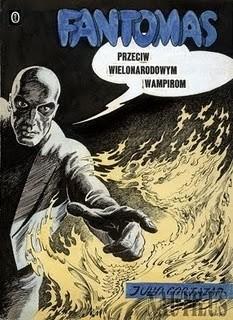 Okładka książki Fantomas przeciw wielonarodowym wampirom