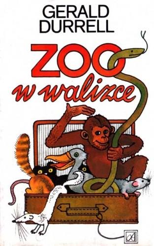 Okładka książki Zoo w walizce