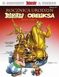 Okładka książki Rocznica urodzin Asteriksa i Obeliksa. Złota Księga
