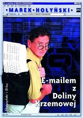 Okładka książki E-mailem z Doliny Krzemowej