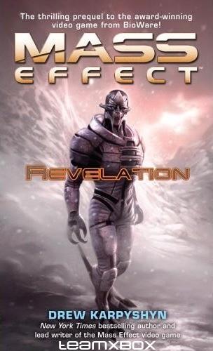 Okładka książki Mass Effect: Revelation