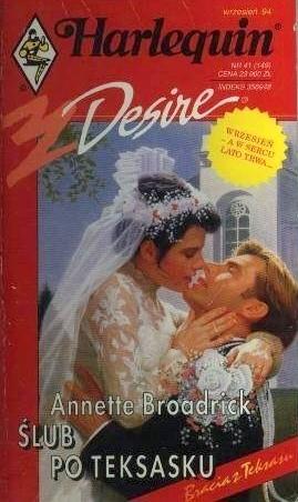 Okładka książki Ślub po teksasku