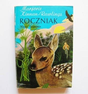 Okładka książki Roczniak