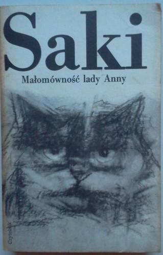 Okładka książki Małomówność lady Anny i inne opowiadania