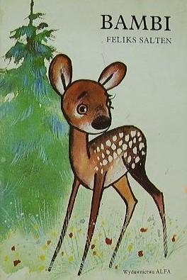 Okładka książki Bambi: Opowieść leśna