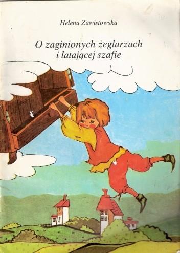 Okładka książki O zaginionych żeglarzach i latającej szafie