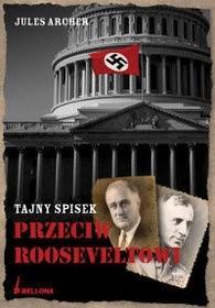Okładka książki Tajny spisek przeciw Rooseveltowi