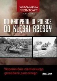 Okładka książki Od kampani w Polsce do klęski Rzeszy