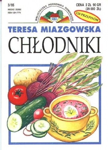 Okładka książki Chłodniki