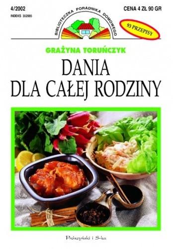Okładka książki Dania dla całej rodziny
