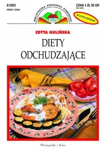 Okładka książki Diety odchudzające