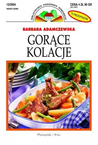 Okładka książki Gorące kolacje