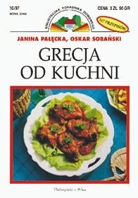 Okładka książki Grecja od kuchni