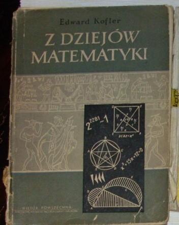 Okładka książki Z dziejów matematyki