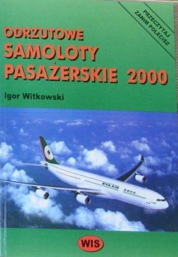 Okładka książki Odrzutowe samoloty pasażerskie 2000