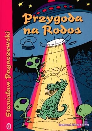 Okładka książki Przygoda na Rodos
