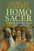 Okładka książki Homo sacer. Suwerenna władza i nagie życie