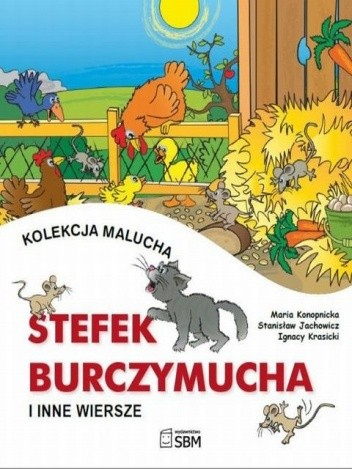 Okładka książki Stefek Burczymucha i inne wiersze