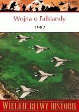 Okładka książki Wojna o Falklandy 1982