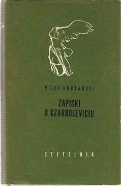 Okładka książki Zapiski o Czarnojeviciu