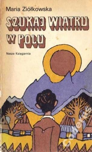 Okładka książki Szukaj wiatru w polu