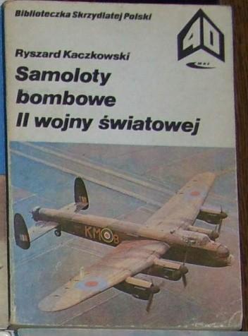 Okładka książki Samoloty bombowe II wojny światowej