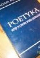 Poetyka. Wstęp do teorii dzieła literackiego