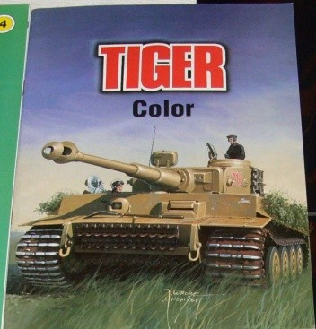 Okładka książki Tiger color