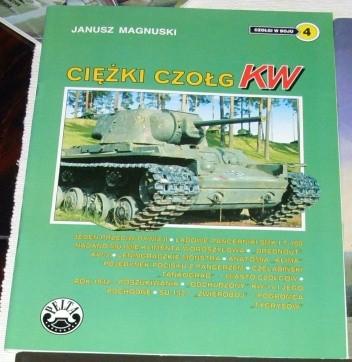 Okładka książki Ciężki czołg KW