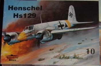 Okładka książki Henschel Hs 129