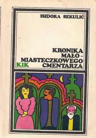 Okładka książki Kronika małomiasteczkowego cmentarza