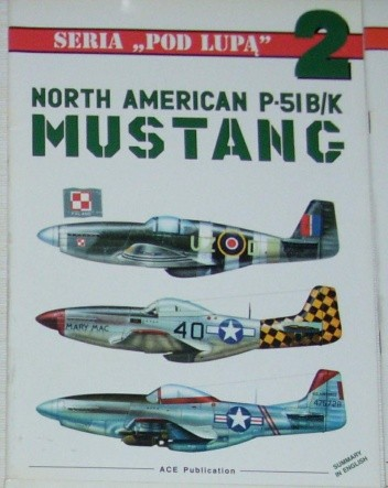 Okładka książki North American P-51 B/K Mustang