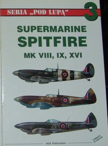 Okładka książki Supermarine Spitfire MK VIII, IX, XVI.
