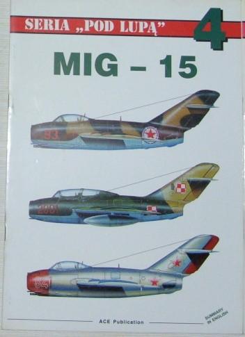 Okładka książki MiG-15