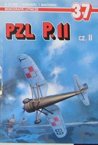 Okładka książki PZL P.11 (część 2)