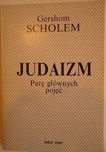Okładka książki Judaizm. Parę głównych pojęć