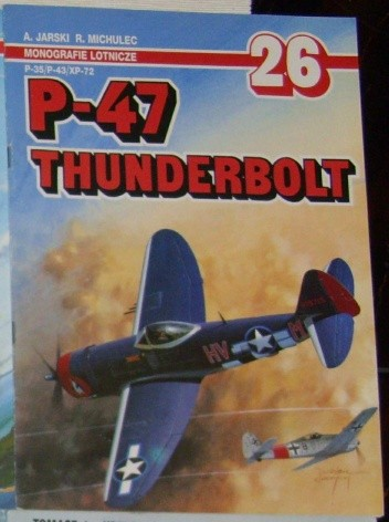 Okładka książki P-47 Thunderbolt P-35/P-43/P-72