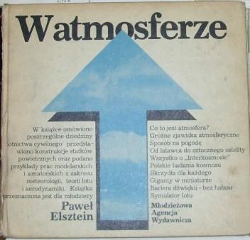 Okładka książki W atmosferze