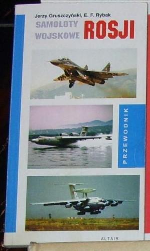 Okładka książki Samoloty wojskowe Rosji.