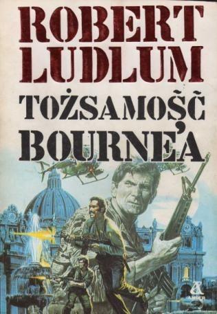 Okładka książki Tożsamość Bourne'a