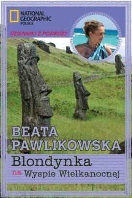 Okładka książki Blondynka na Wyspie Wielkanocnej