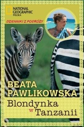 Okładka książki Blondynka w Tanzanii