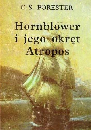 "Okładka książki Hornblower i jego okręt ""Atropos"""