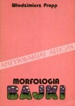 Okładka książki Morfologia bajki